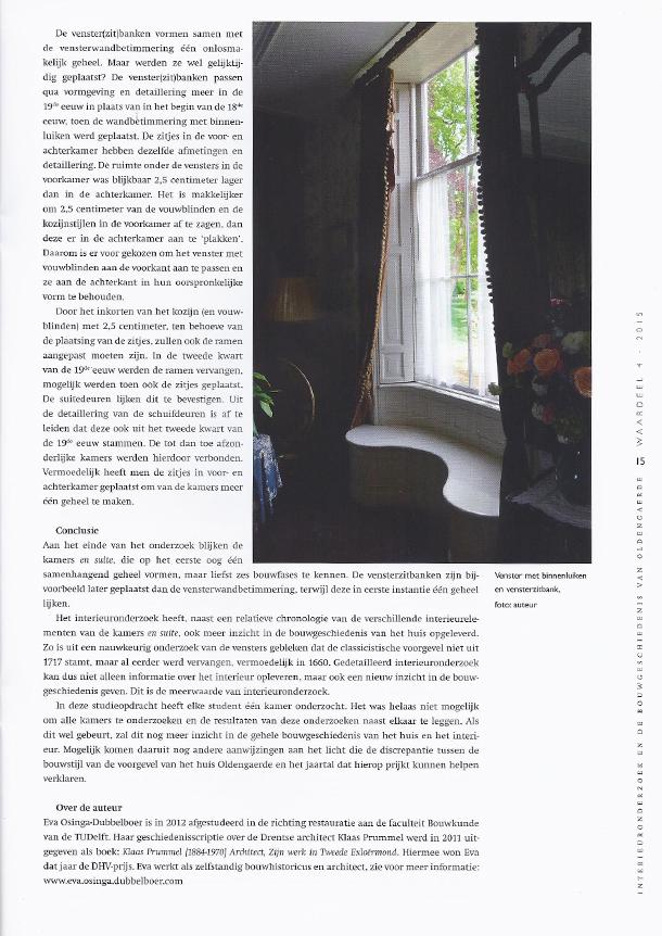 Artikel Oldengaerde in Waardeel 07